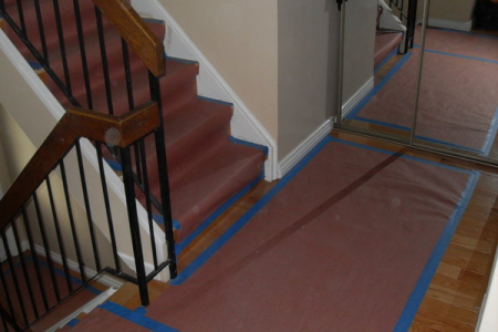 Floor and Stair protection